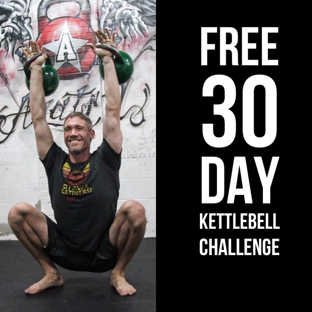 30 Day Kettlebell Challenge