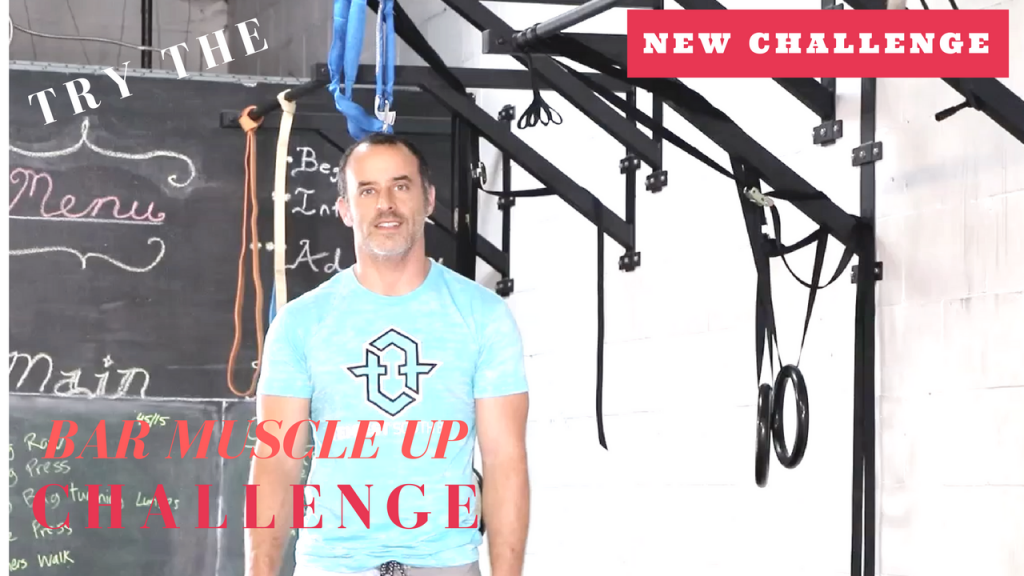 Fitness Challenge Bar Muscle Up
