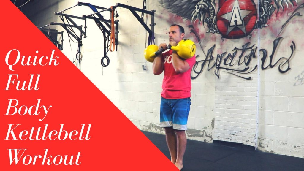 Quick Kettlebell Workout