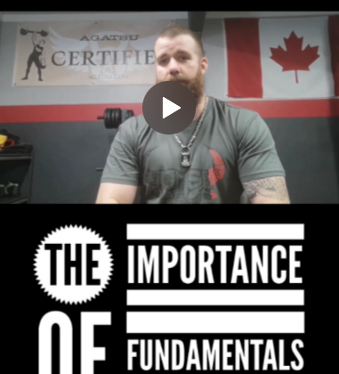 Fundamentals, foundations, training, fitness, goals