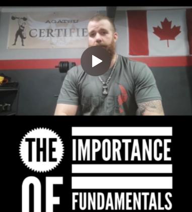 Fundamentals, foundations, training, fitness, goals