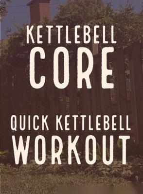Kettlebell Core Workout